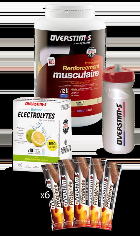 Pack costruzione muscolare